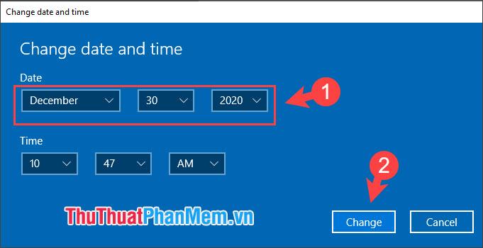 Đặt thời gian trước ngày Flash khai tử