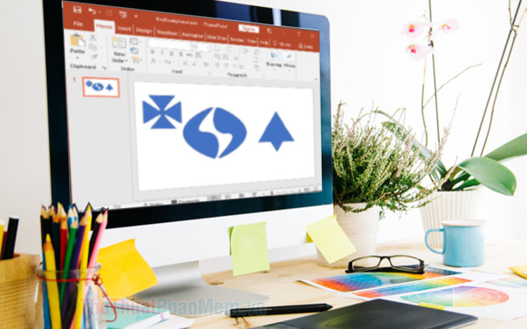 Thay đổi hình dạng của Shape với Edit Point trong PowerPoint