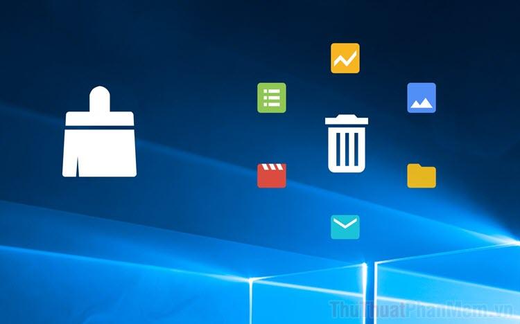 Cách làm sạch file rác, Registry, Cookies bị hỏng trên Windows 10