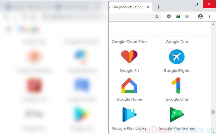 Cách làm màn mờ nội dung trên trình duyệt Chrome, Cốc Cốc, Microsoft Edge