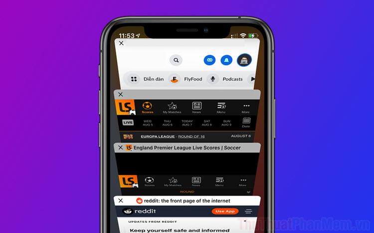 Cách tắt toàn bộ Tab đang mở của Safari trên iPhone