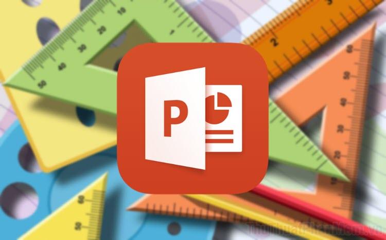 Cách thay đổi đơn vị đo lường của PowerPoint