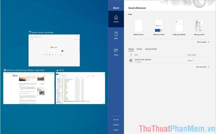 Cách tùy chỉnh chia màn hình trên Windows 10