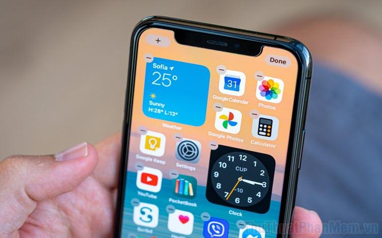 Cách xóa ứng dụng và trang khỏi màn hình iPhone, iPad