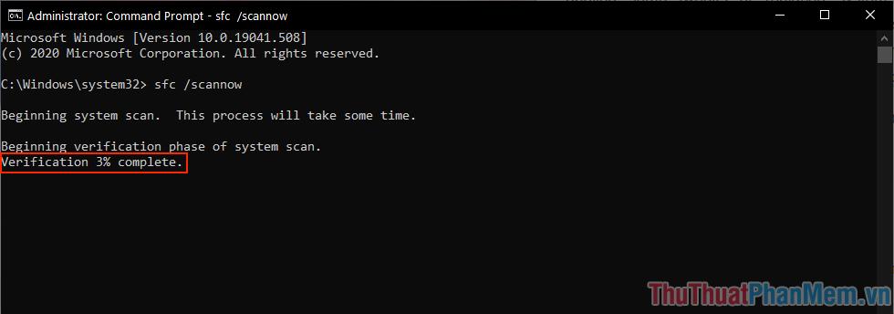 Hệ thống sẽ tự động quét và sửa lỗi Registry cho các bạn