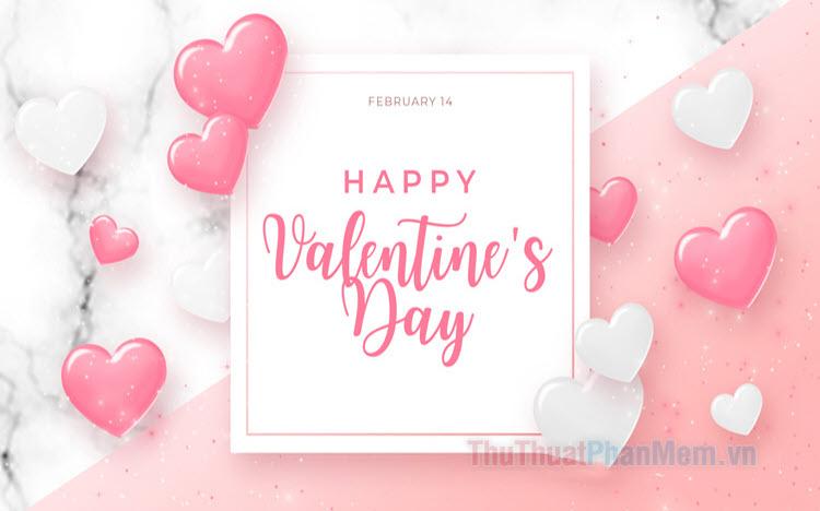 Những mẫu thiệp Valentine đẹp nhất