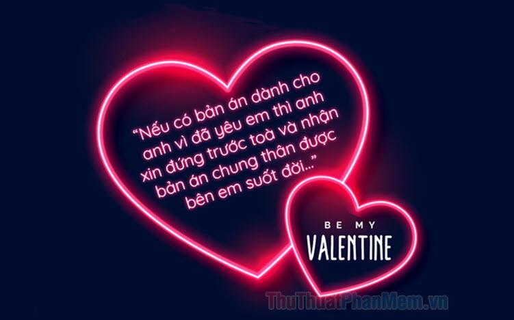 Những tin nhắn Valentine ngọt ngào nhất