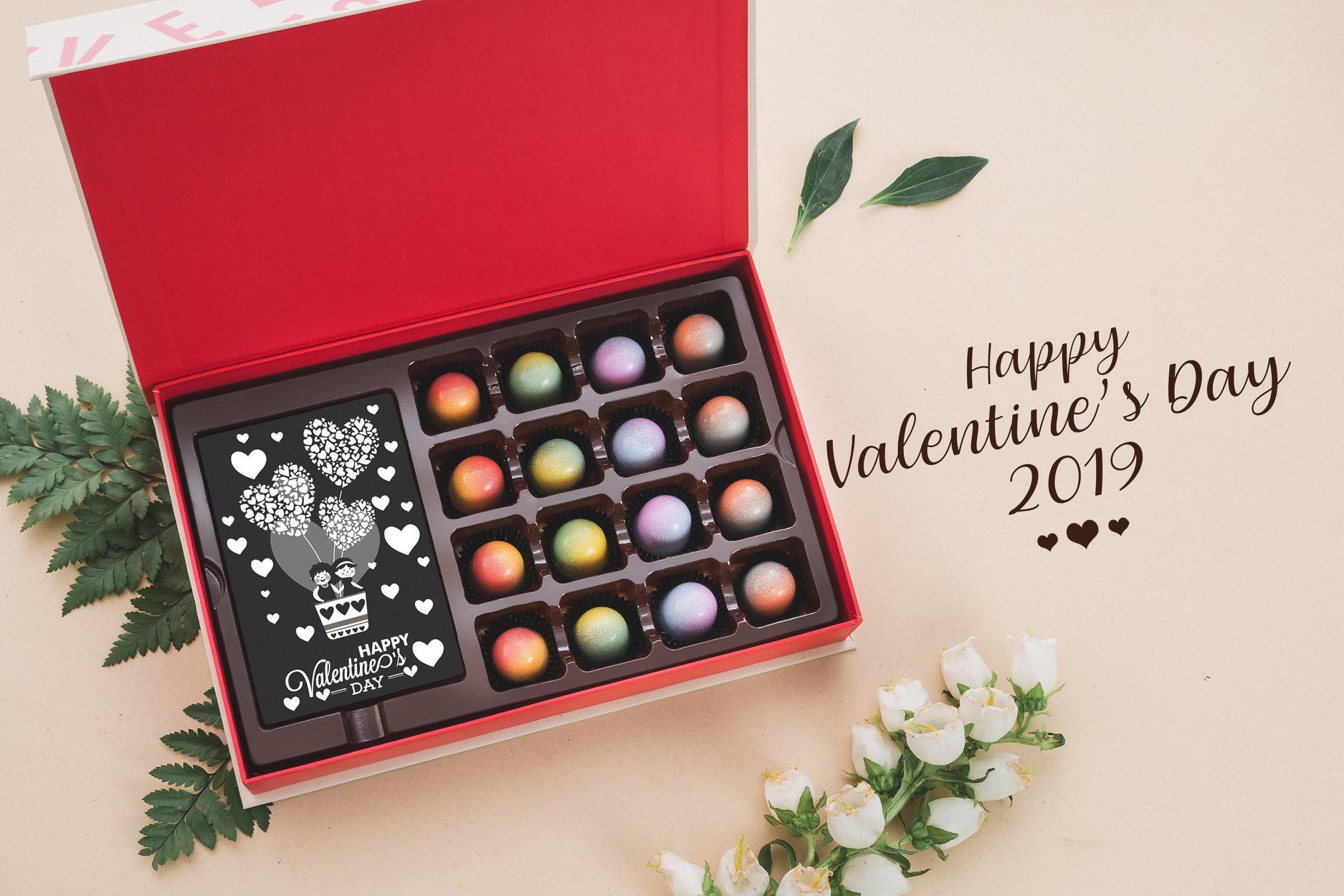 Ảnh hộp quà Socola Valentine độc đáo, ấn tượng