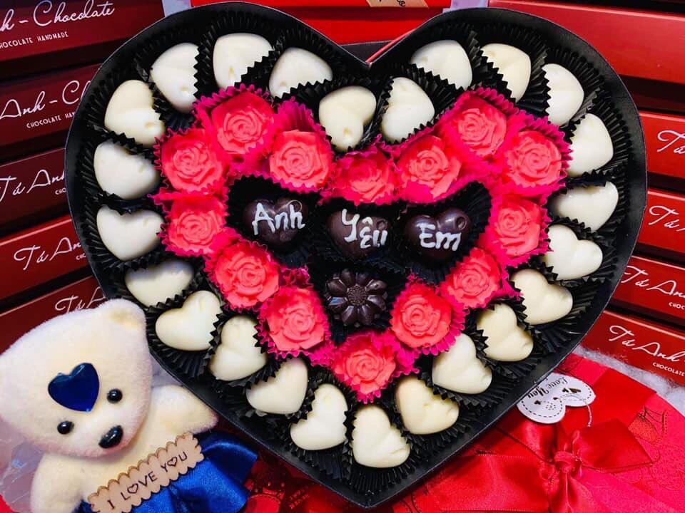 Ảnh Socola Valentine đẹp, ý nghĩa