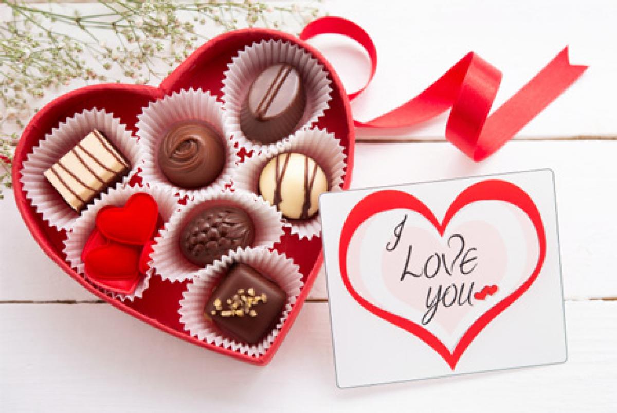 Ảnh Socola Valentine đơn giản, đẹp