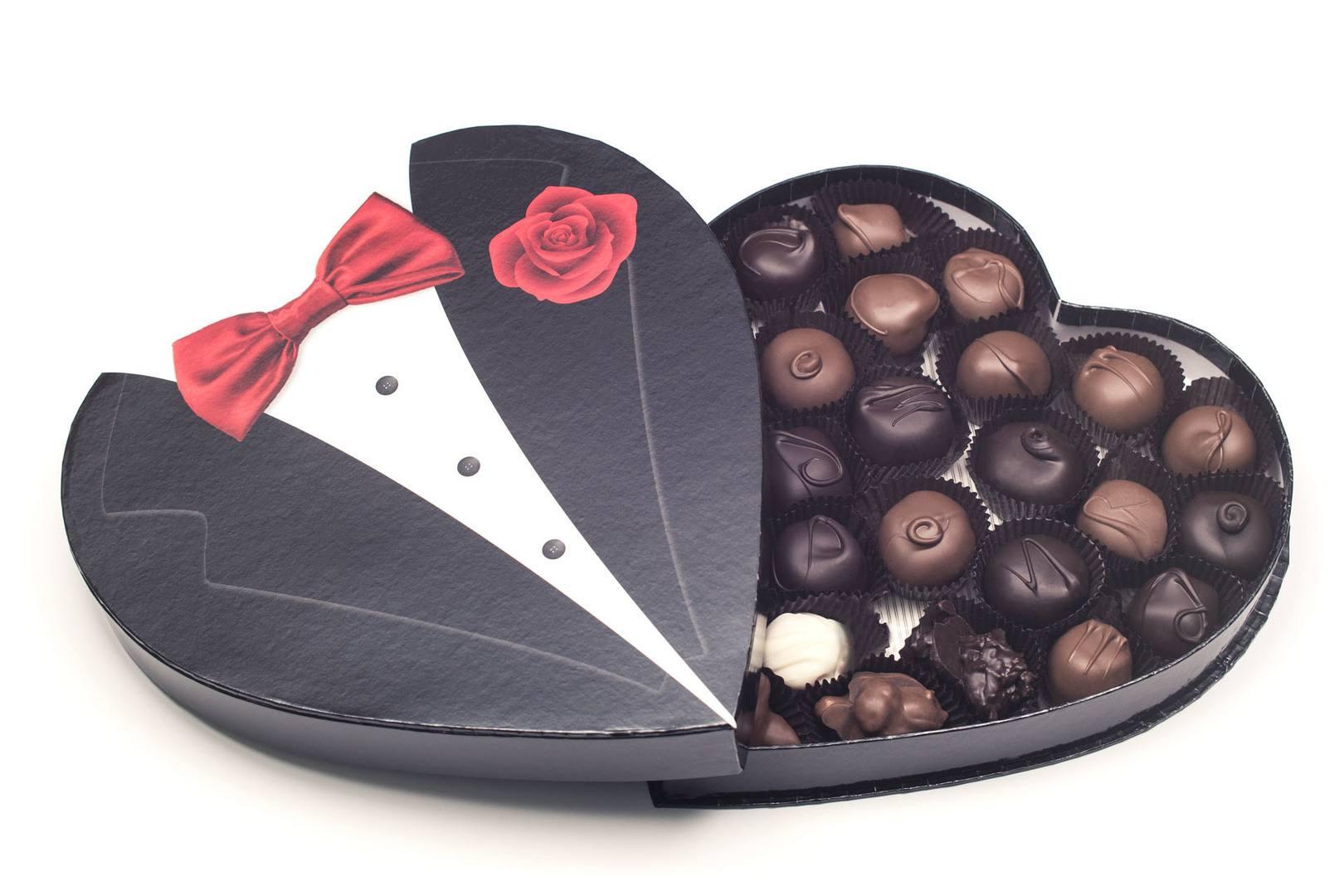 Ảnh Socola Valentine trái tim đẹp nhất
