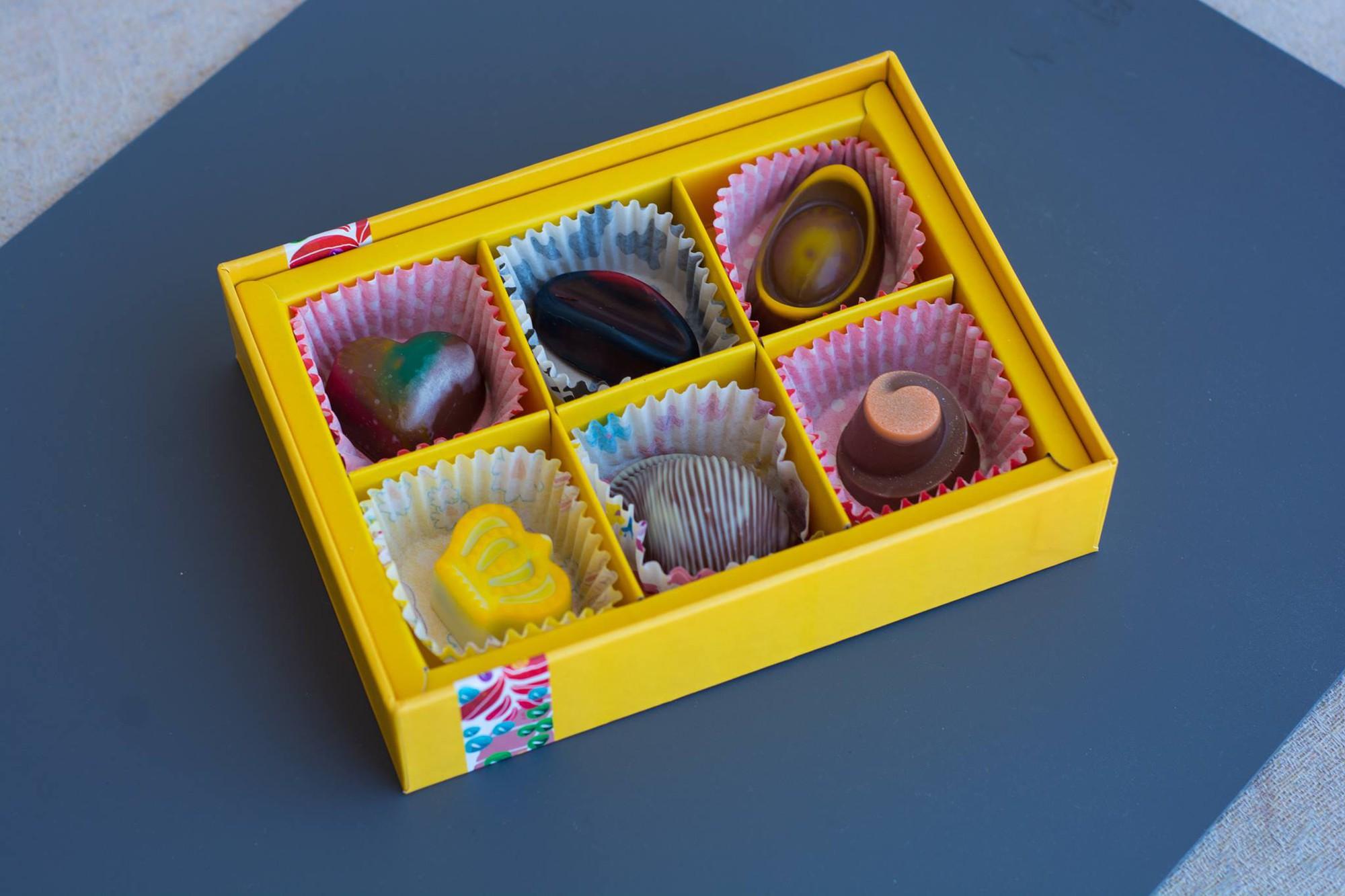 Hình ảnh hộp quà Socola Valentine độc đáo, ấn tượng