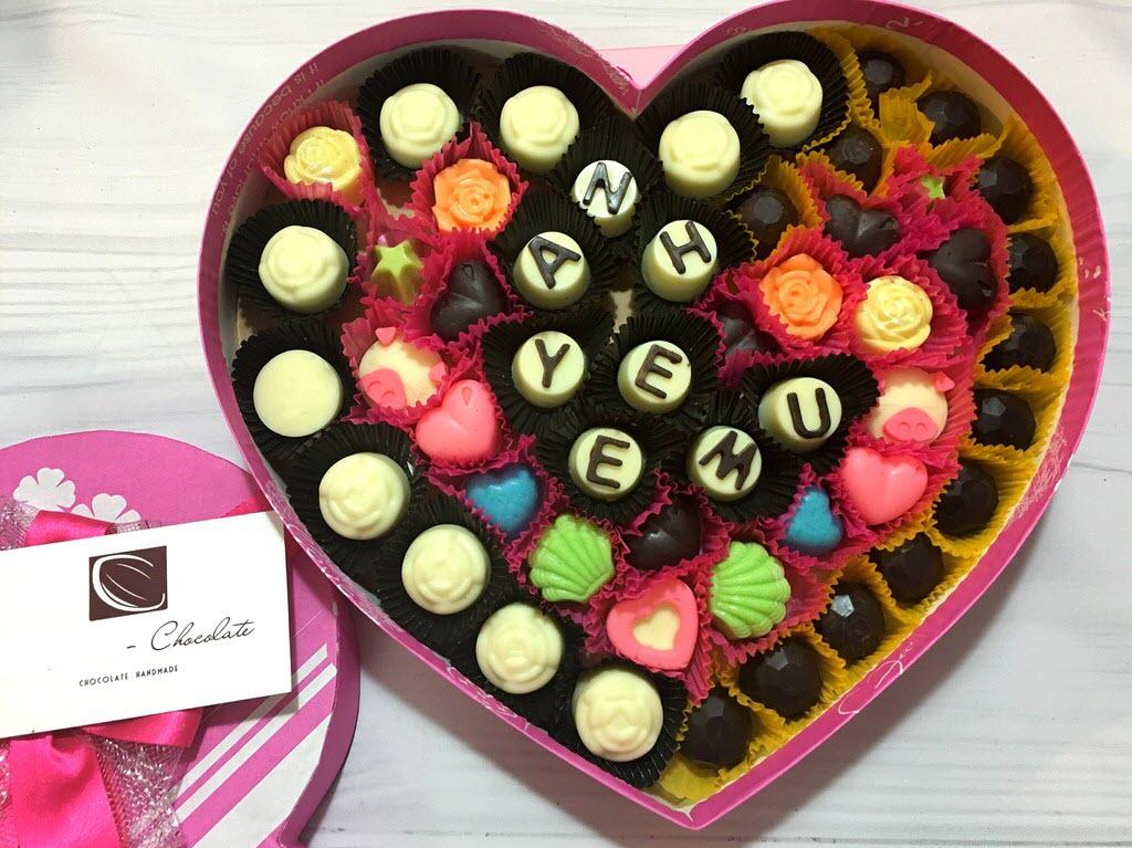 Hình ảnh Socola Valentine đẹp, giản dị
