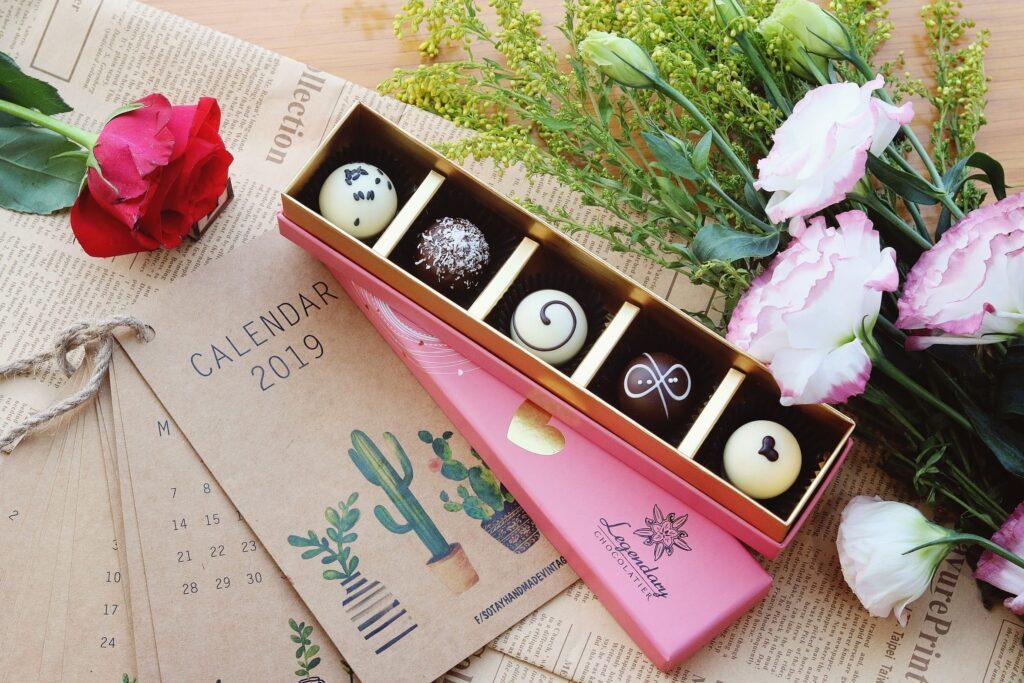 Hình ảnh Socola Valentine đơn giản đẹp nhất