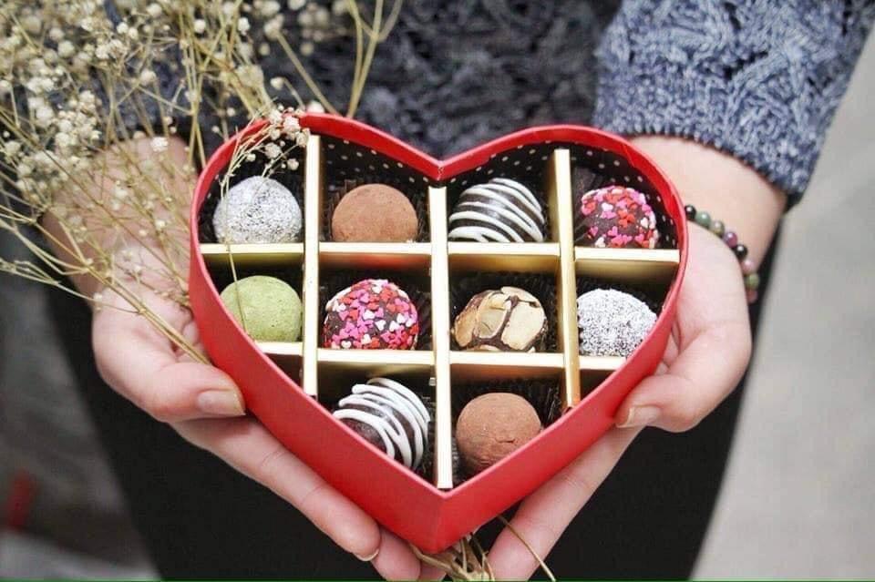 Hình ảnh Socola Valentine đơn giản