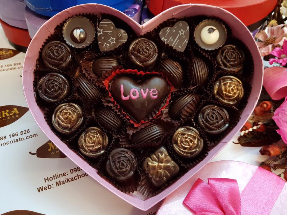 Hộp Socola cho ngày Valentine đẹp nhất