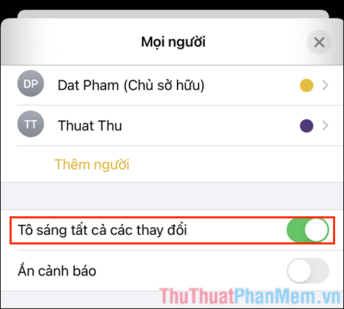 Cách chia sẻ ghi chú trên iPhone, iPad để nhắn tin bí mật