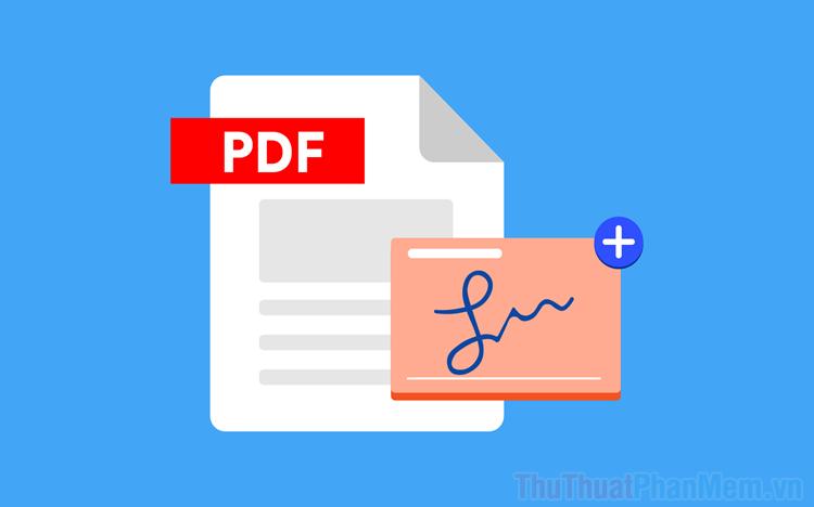 Cách chèn thêm hình ảnh vào file PDF