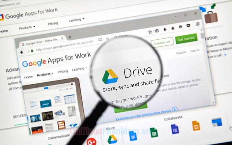 Cách tải toàn bộ dữ liệu trên Google Drive về máy tính