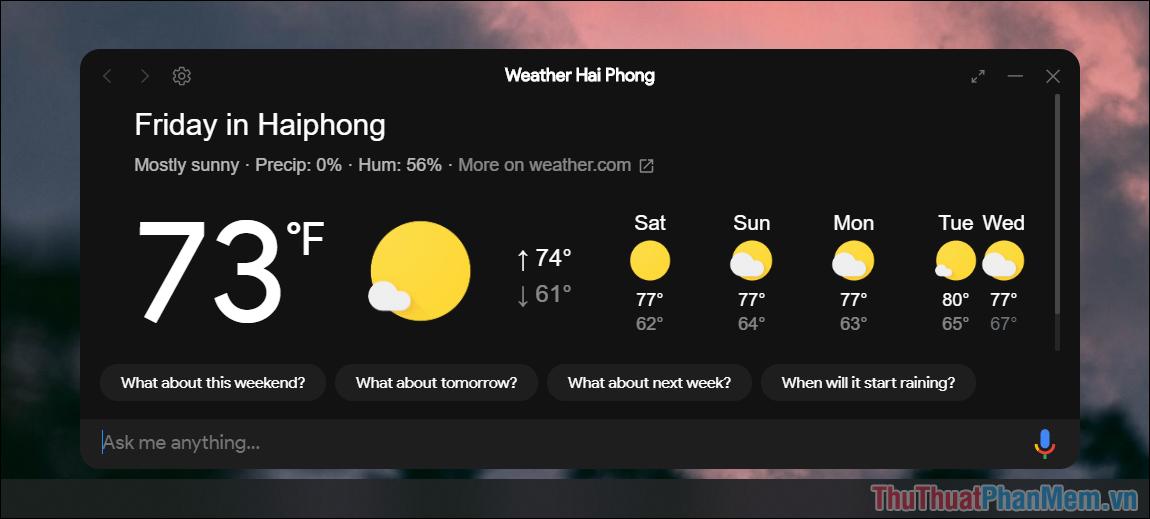 Google Assistant trên máy tính mới hỗ trợ đến tiếng Anh và một số ngôn ngữ khác