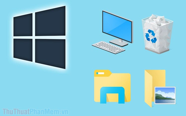 Sửa lỗi icon màn hình desktop bị giống nhau