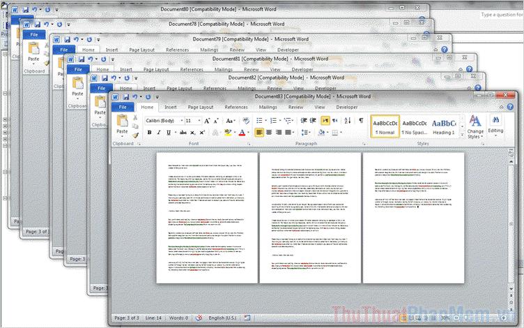 Cách cắt file Word thành nhiều file nhỏ