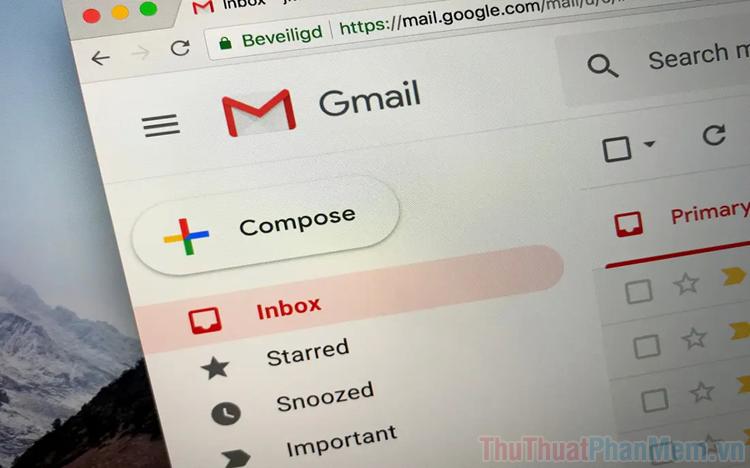 Cách thay đổi tài khoản Gmail mặc định