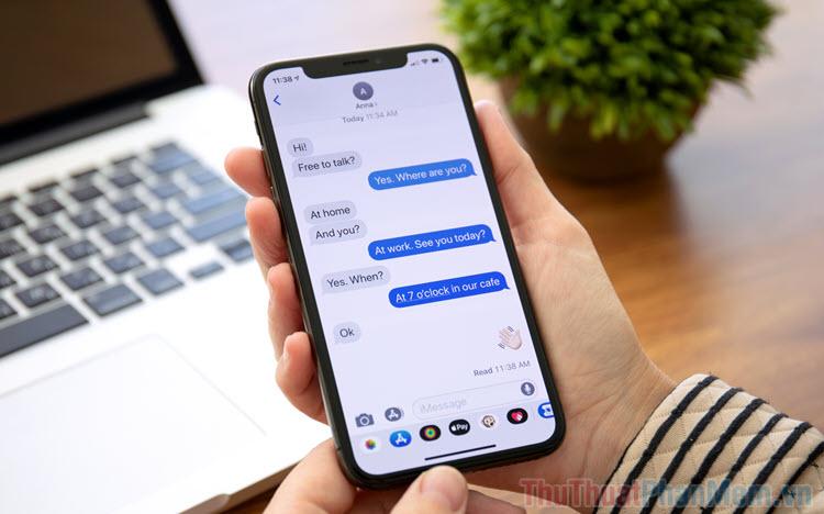 Cách tìm kiếm tin nhắn văn bản trên iPhone, iPad