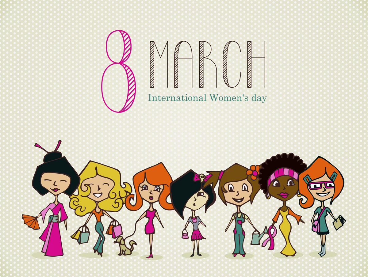 International happy womens day images