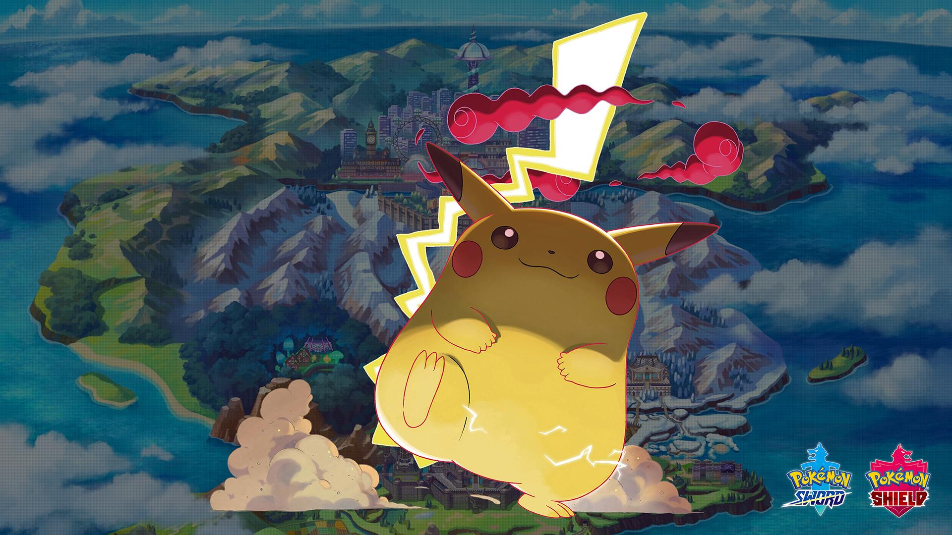 Ảnh nền Pikachu anime đẹp