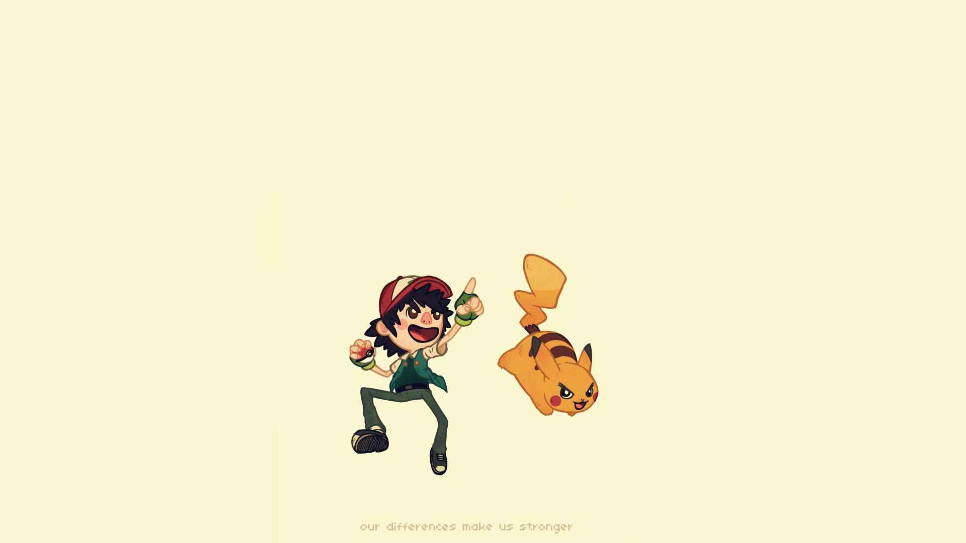 Ảnh nền Pikachu chibi dễ thương