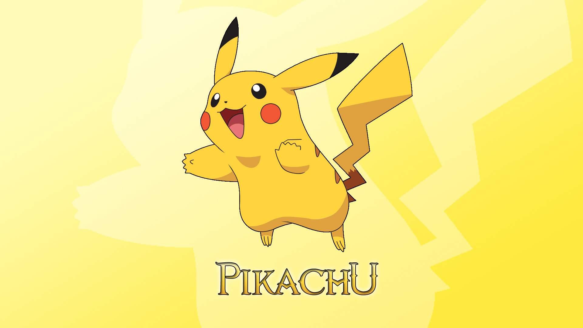 Ảnh nền Pikachu dễ thương