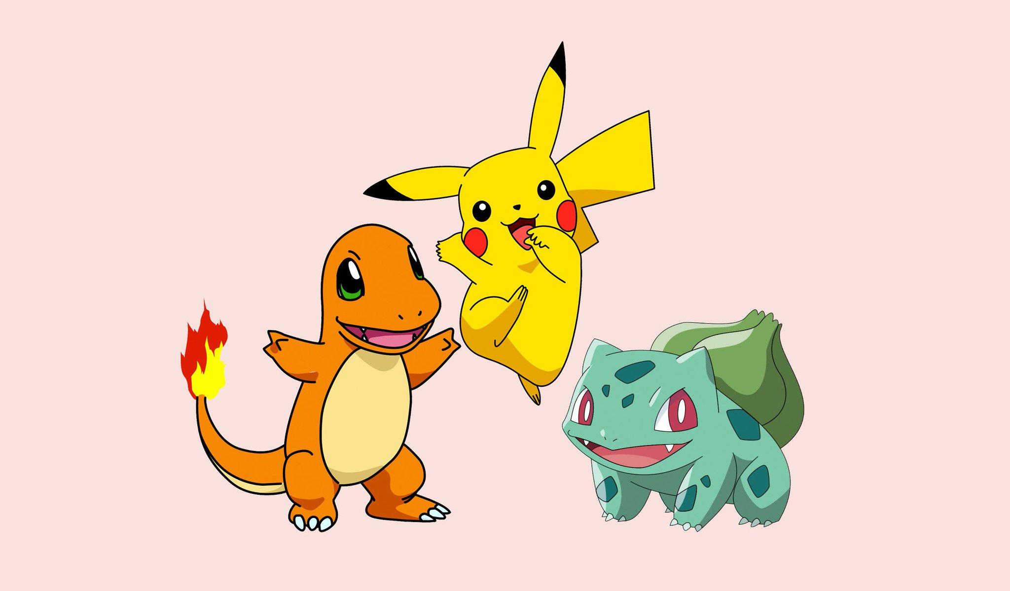 Ảnh nền Pikachu và những người bạn