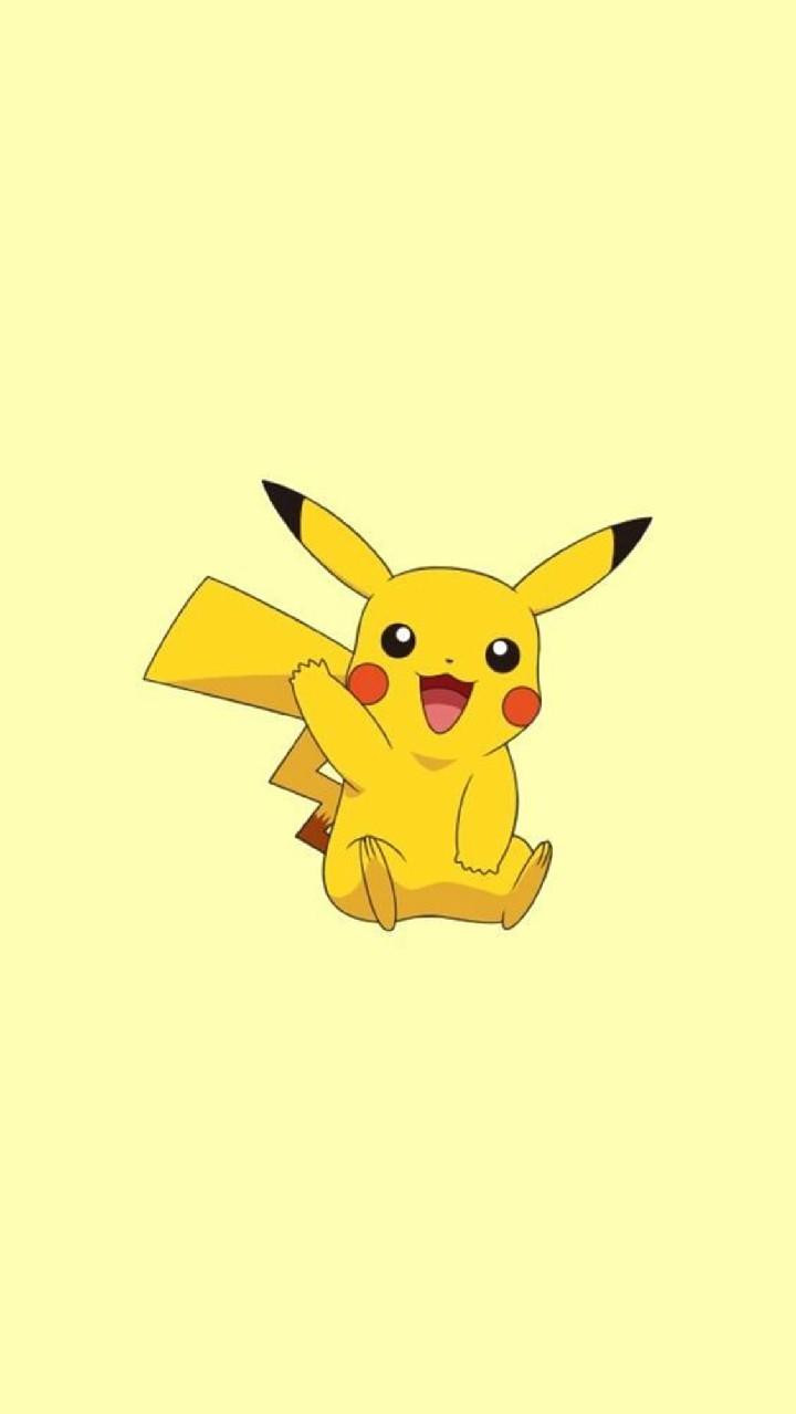 Hình nền điện thoại Pikachu dễ thương