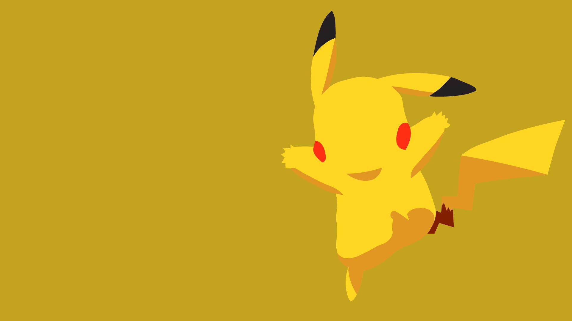 Hình nền mặt sau Pikachu