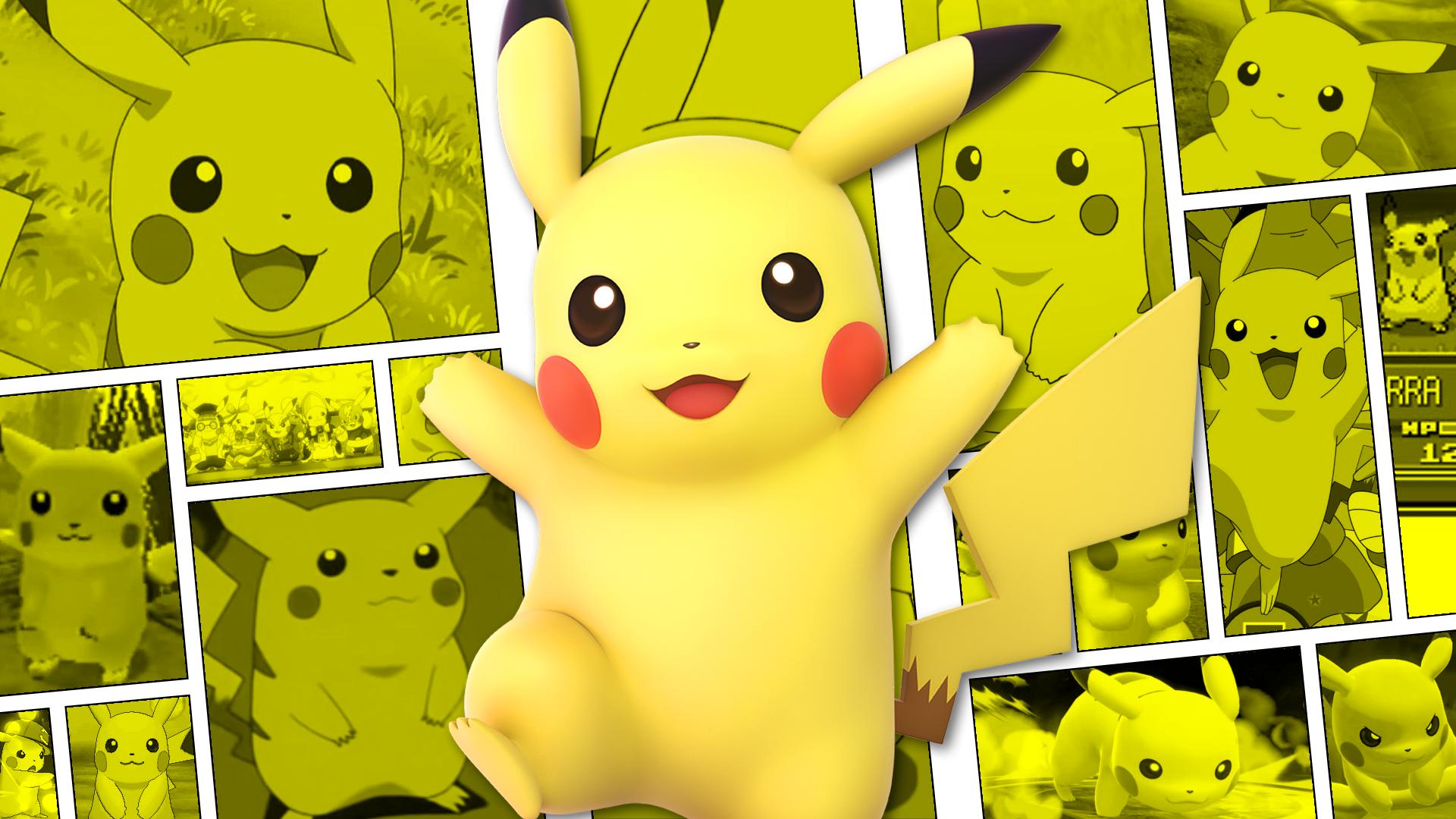 Hình nền Pikachu 3D