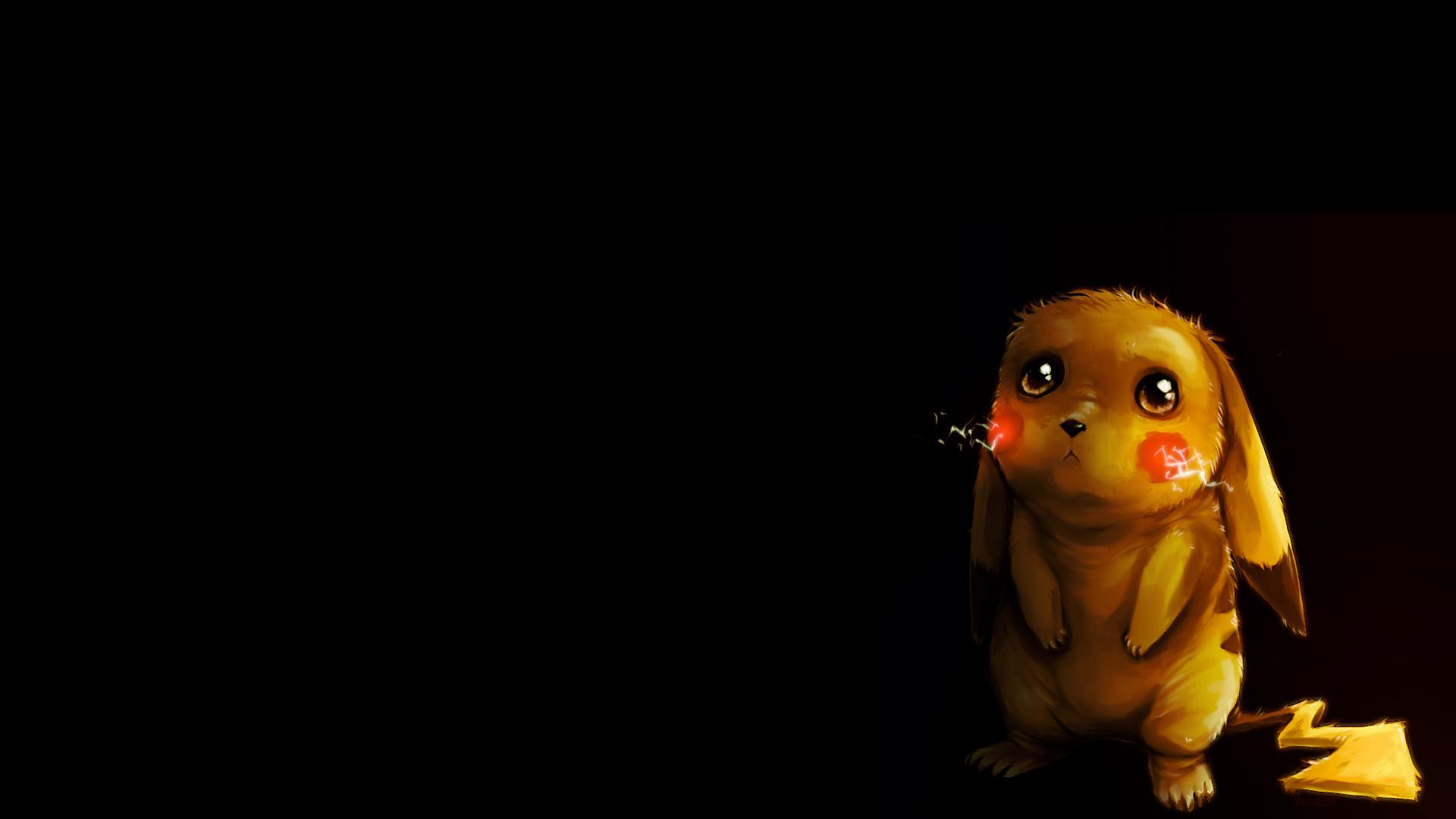 Hình nền Pikachu buồn