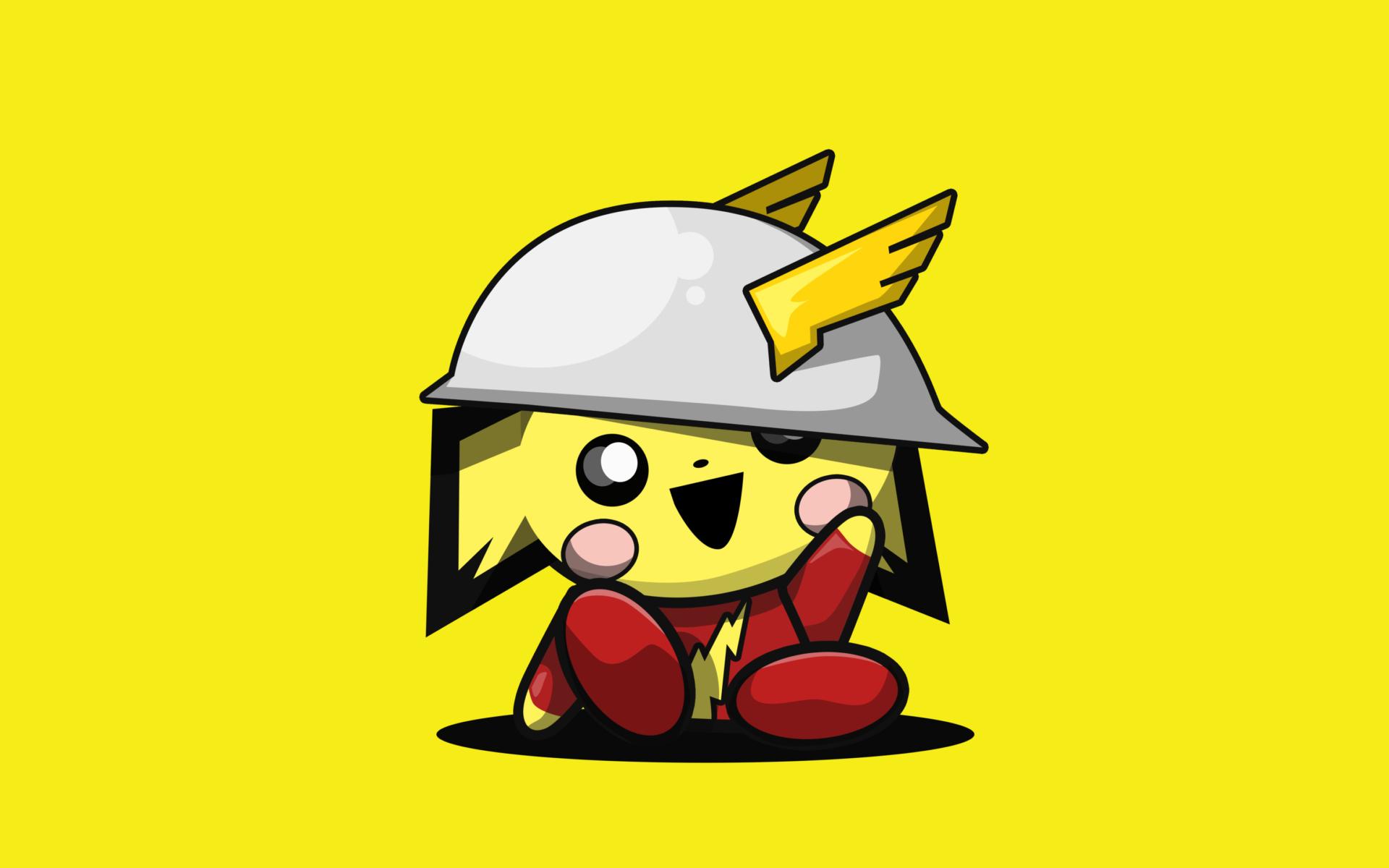 Hình nền Pikachu chibi