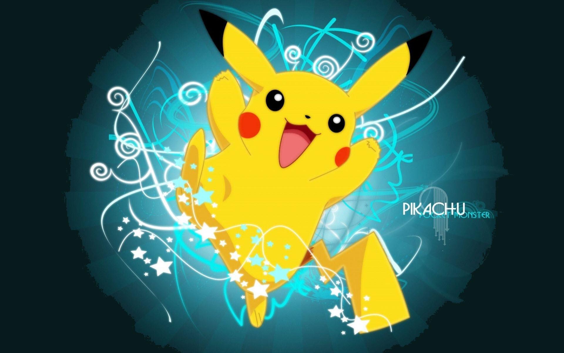 Hình nền Pikachu cute, ngầu
