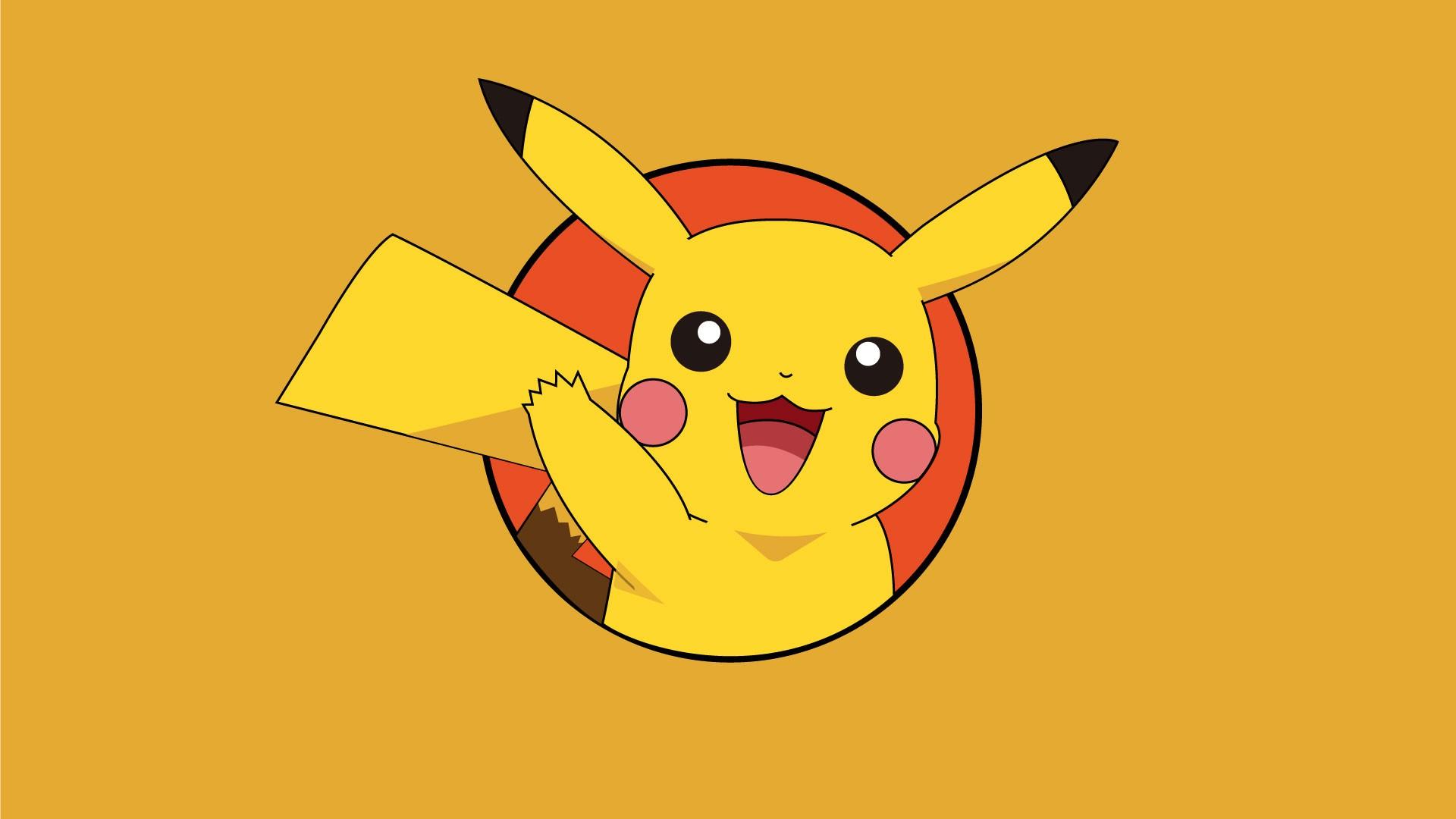 Hình nền Pikachu cute