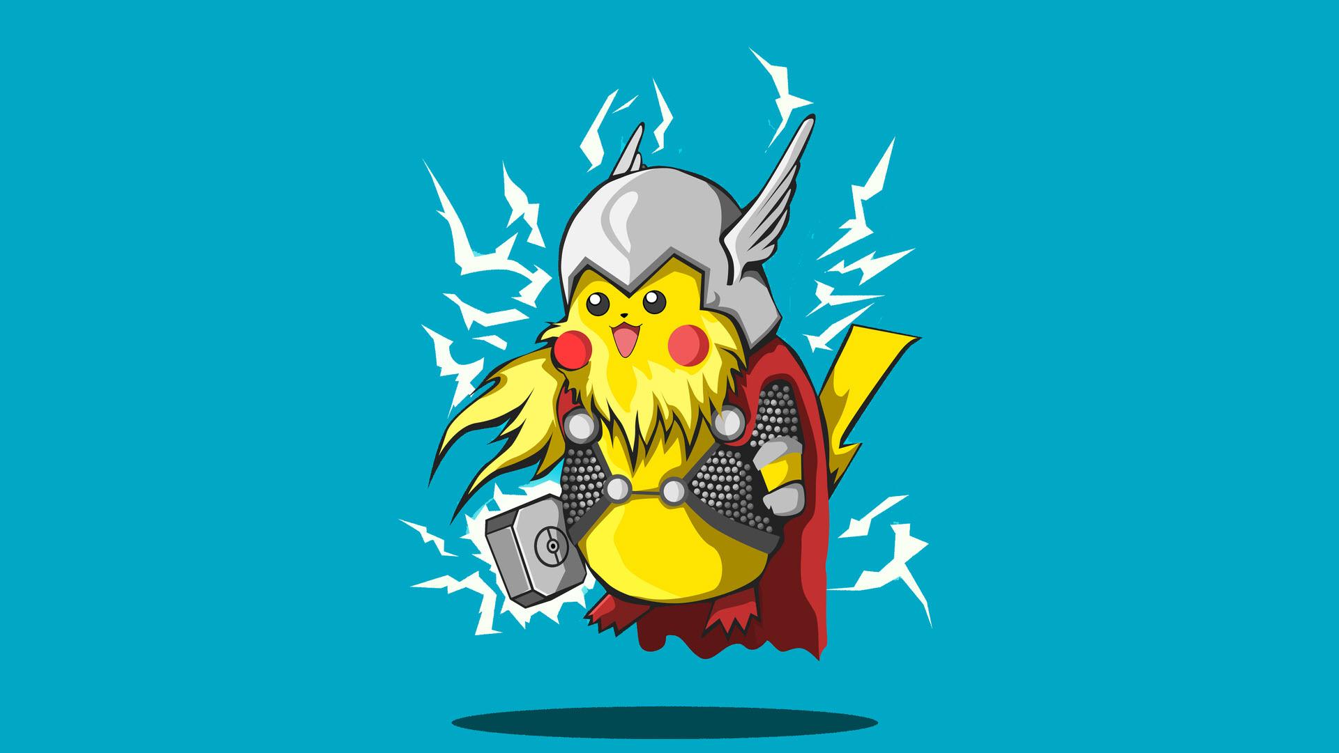 Hình nền Pikachu đẹp chất