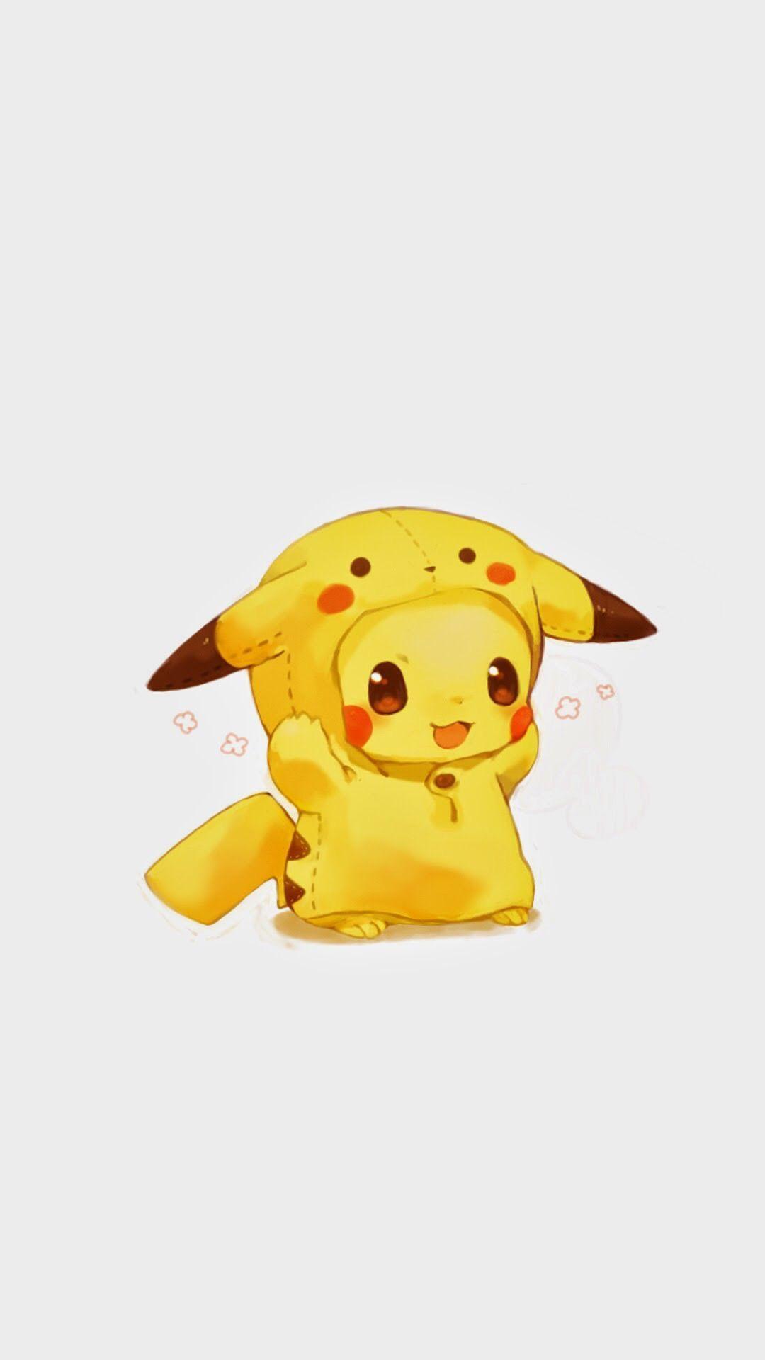 Hình nền Pikachu đẹp, cute cho điện thoại
