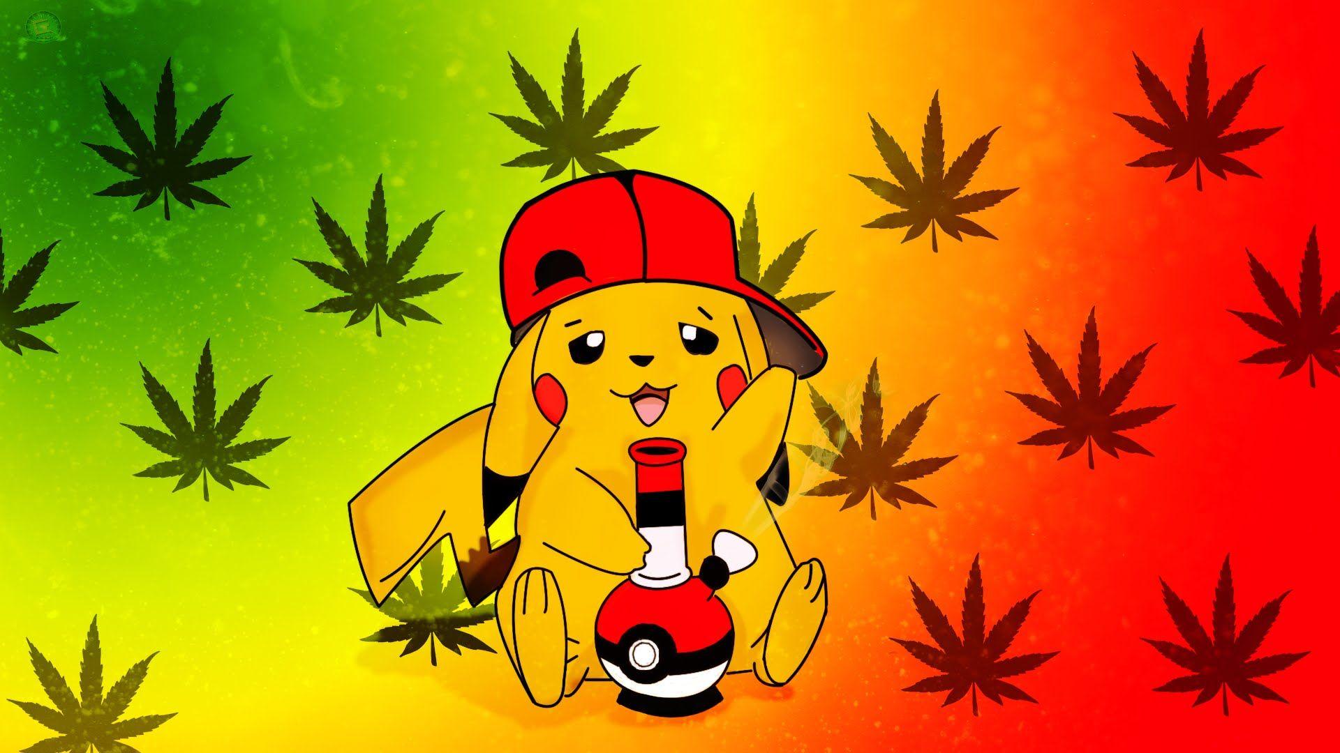 Hình nền Pikachu hài hước