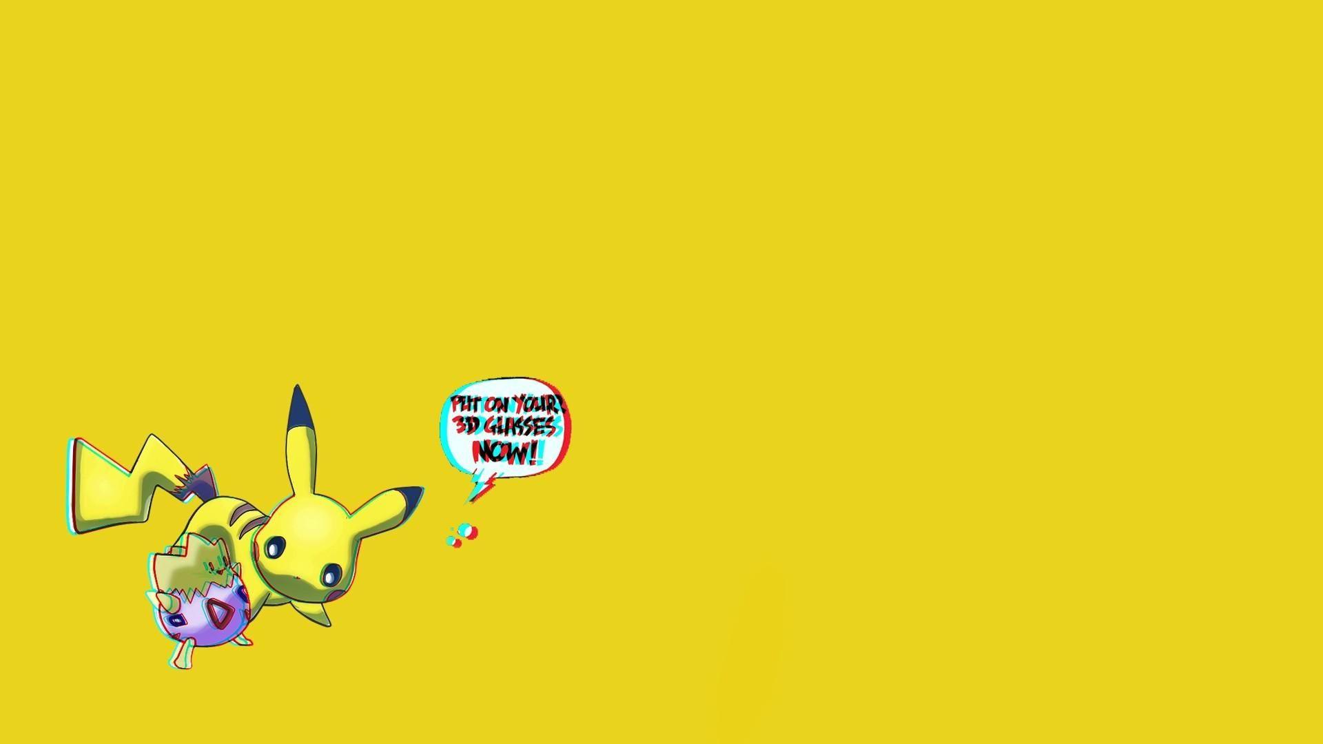 Hình nền pikachu kèm hiệu ứng