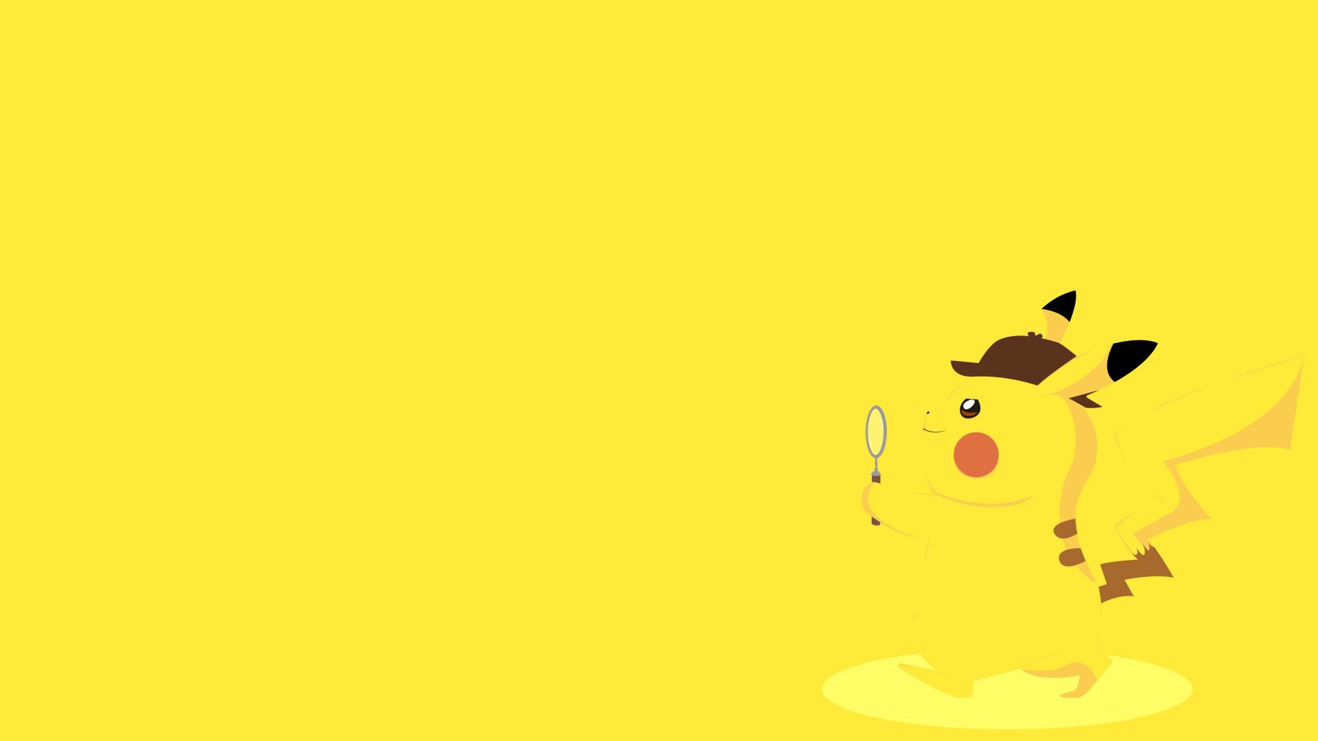 Hình nền Pikachu thám tử