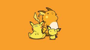 Hình nền Pikachu và những người bạn