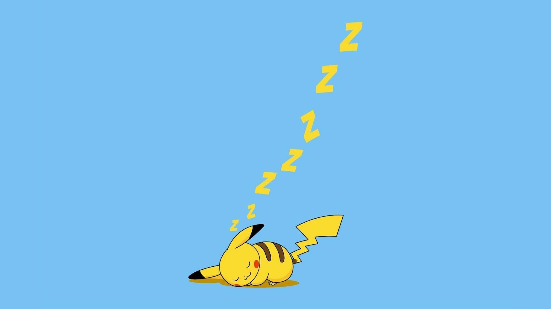 Sleeping Pikachu Wallpapers
