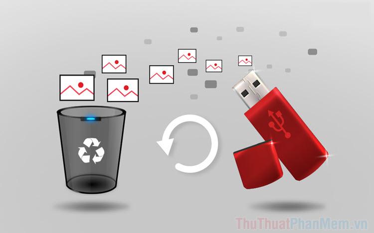 Hướng dẫn khôi phục file đã xóa trên USB Ổ cứng ngoài